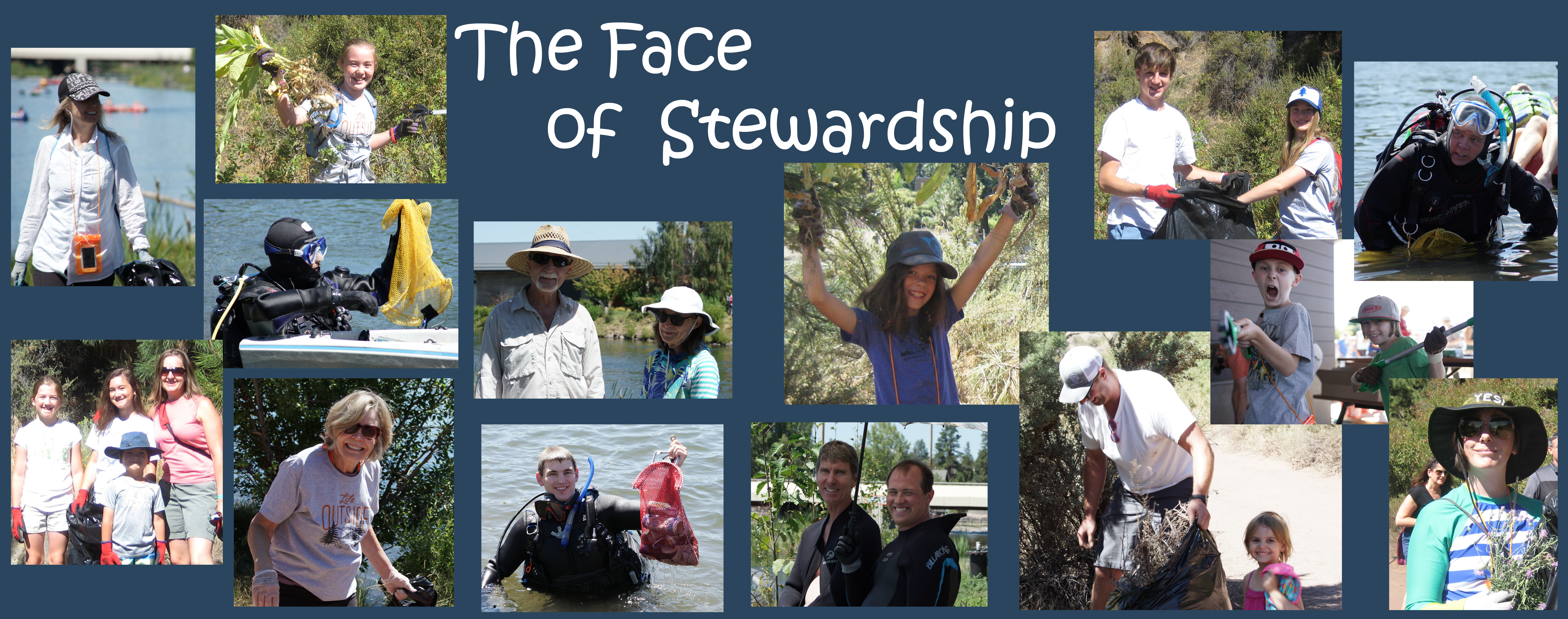the face of stewardship