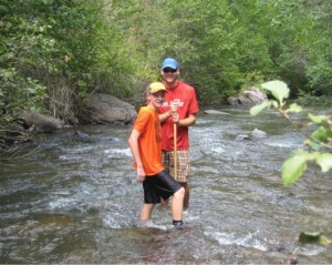 Volunteers Macroinvertebrate Monitoring